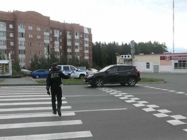«Пешеходный» рейд в Новоуральске